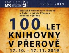 Výstava - 100 let knihovny v Přerově