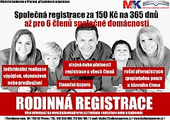 Rodinná registrace